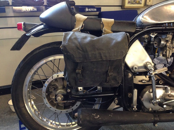 WWII BLACK PANNIERS MEDIUM GR1 - Silvermans  - 7