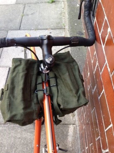CANVAS BICYCLE PANNIERS - Silvermans  - 7