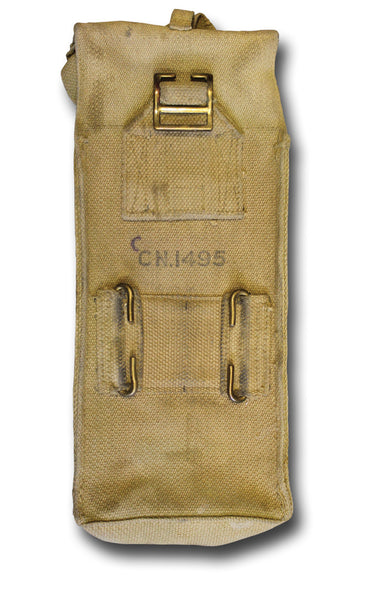 1937 BASIC AMMO POUCH (BRASS) - Silvermans  - 2