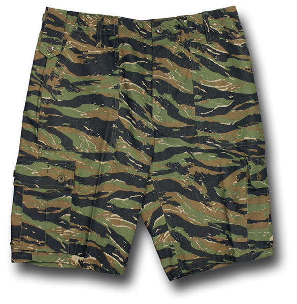 COMBAT SHORTS - TIGER STRIPE