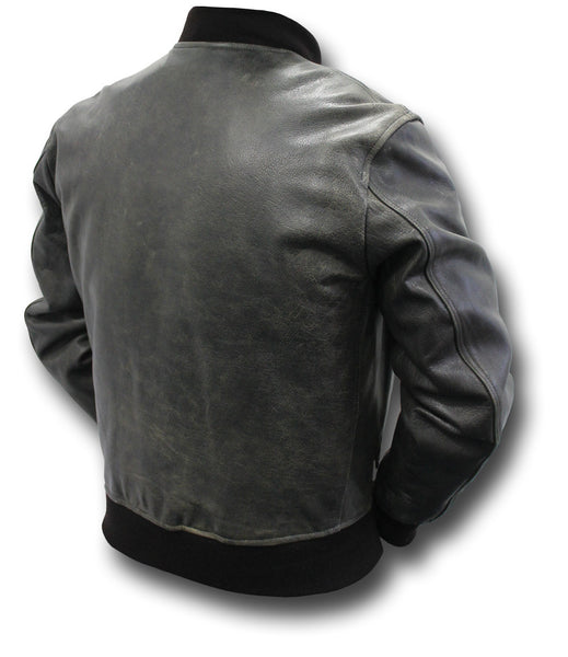 GTH MA1 VINTAGE LEATHER JACKET - Silvermans  - 2