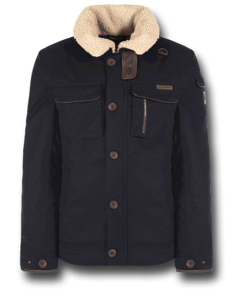 CRAGHOPPERS FACEBY BOMBER JACKET - DARK NAVY