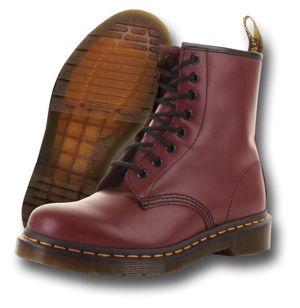 DR. MARTENS 1460Z CHERRY BOOTS - Silvermans  - 2