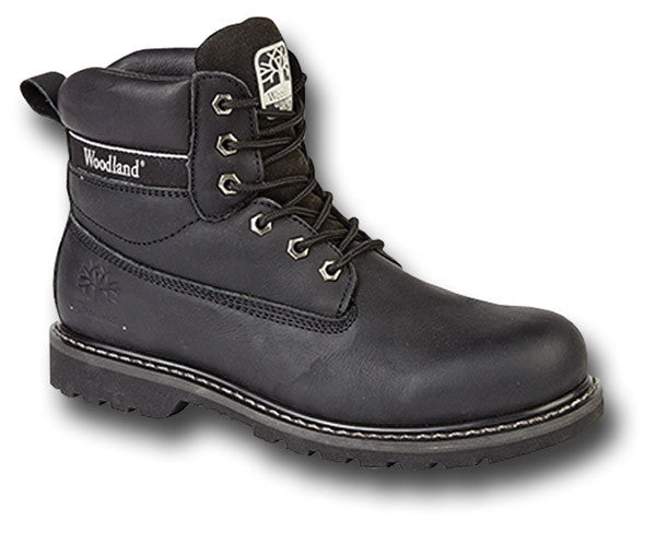 WOODLAND UTILITY BOOTS BLACK - Silvermans  - 2
