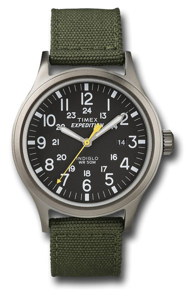 TIMEX EXPEDITION SCOUT GREEN - Silvermans  - 2