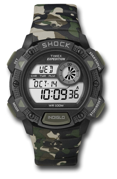 TIMEX EXPED BASE SHOCK CAMMO - Silvermans  - 2