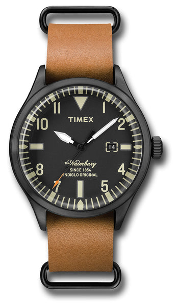 TIMEX WATERBURY WATCH TAN STRP - Silvermans  - 2