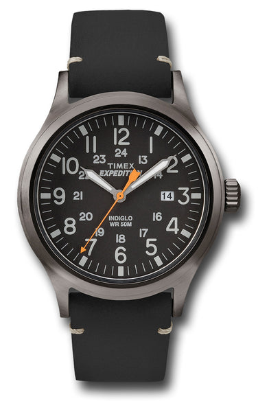 TIMEX EXPEDITION SCOUT BLACK - Silvermans  - 2