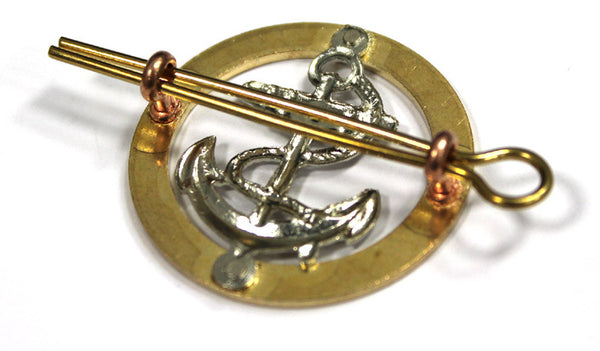 ROYAL NAVY RATINGS BERET BADGE - Silvermans  - 2