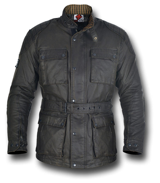 OXFORD HERITAGE WAX JACKET - Silvermans  - 12