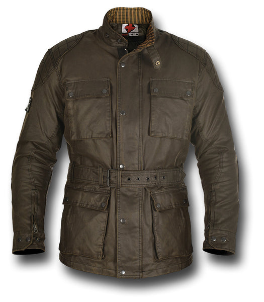 OXFORD HERITAGE WAX JACKET - Silvermans  - 13