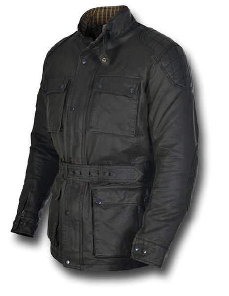 OXFORD HERITAGE WAX JACKET - Silvermans  - 3