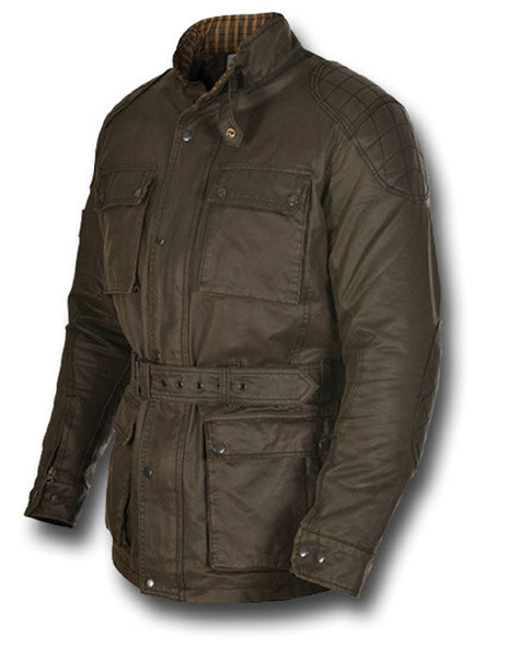OXFORD HERITAGE WAX JACKET - Silvermans  - 10