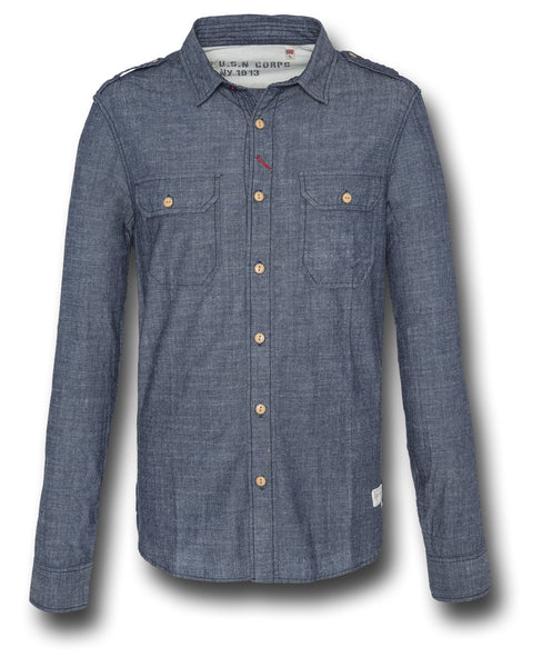 SCHOTT CRUISER SHIRT - Silvermans  - 2