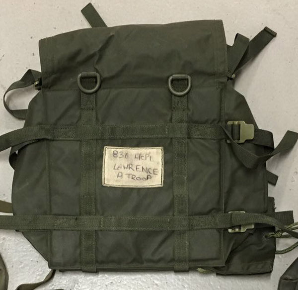 1972 PATTERN NYLON REAR PACK - Silvermans  - 3