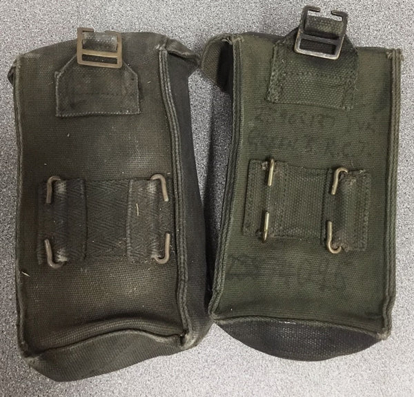 WWII BLACK TOOL PANNIERS STRAP