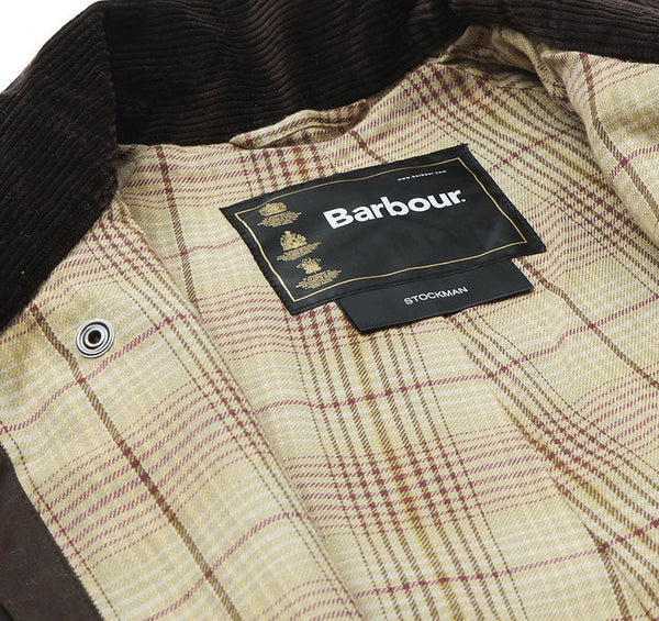BARBOUR STOCKMAN COAT