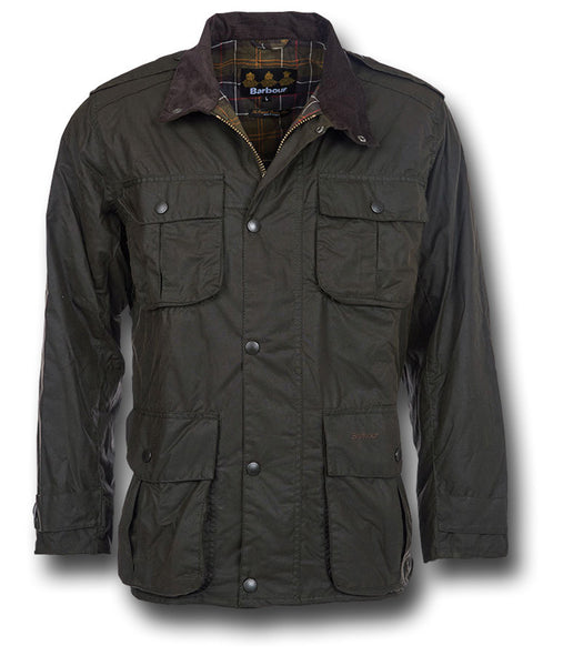 BARBOUR TROOPER WAX JACKET - Silvermans