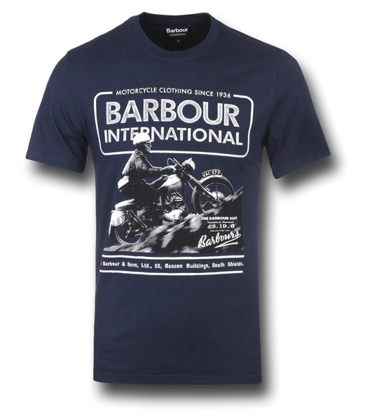 BARBOUR HILL CLIMB T-SHIRT - Silvermans