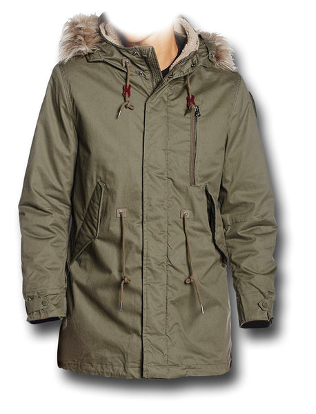 SCHOTT M51 HOODED JACKET - Silvermans