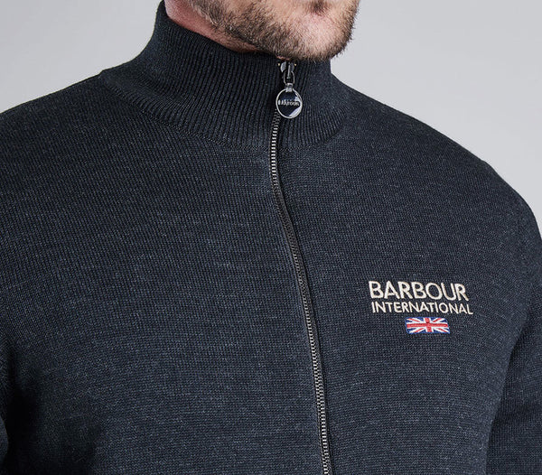 BARBOUR ROWHILL ZIP SWEATER