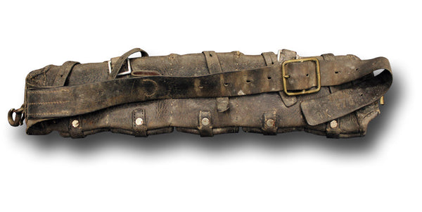 1902 DATED LEATHER AMMO BELT