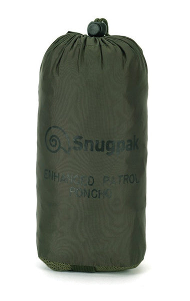 SNUGPAK ENHANCED PATROL PONCHO - packed