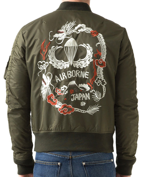 SCHOTT SOUVENIR FLIGHT JACKET - BACK
