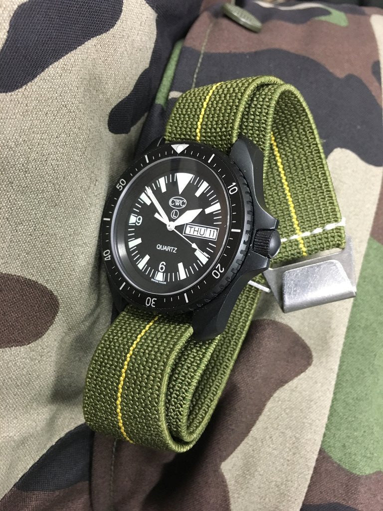 French Ndc Military Strap Silvermans