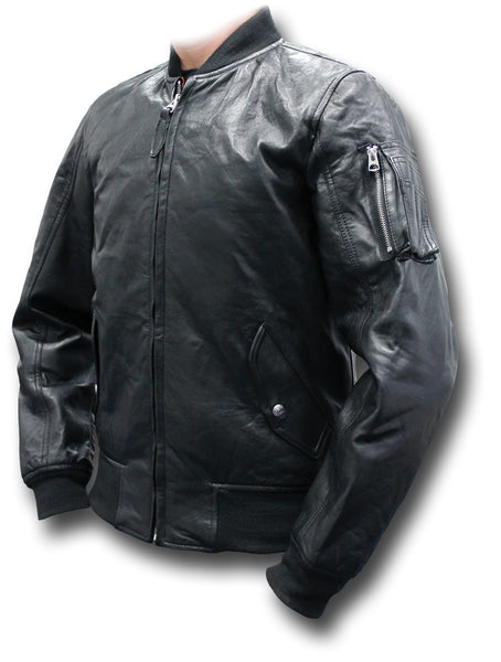 SCHOTT LC206X LEATHER JACKET