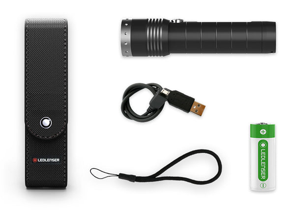 LED LENSER MT14 RECHARGE TORCH