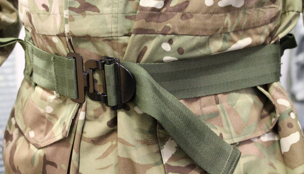 ROYAL MARINES QUICK-RELEASE PADDED WAIST BELT