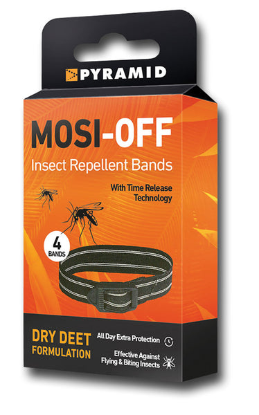 MOSI-OFF INSECT REPEL BANDS