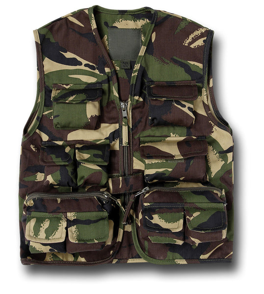 KIDS ACTION VEST - WOODLAND