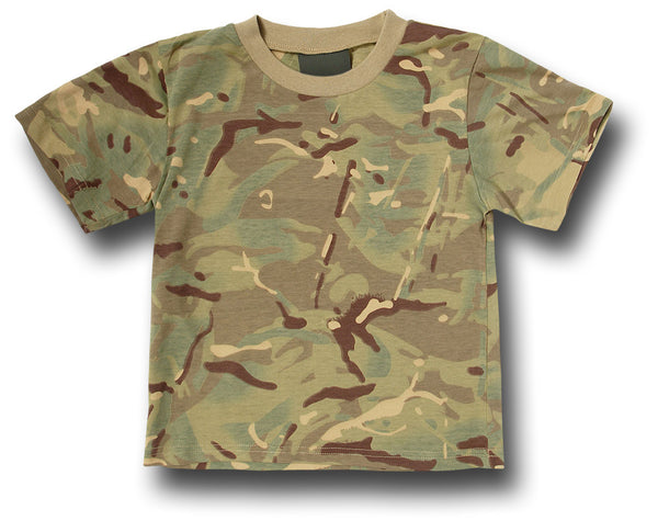 KIDS CAMOUFLAGE T-SHIRT