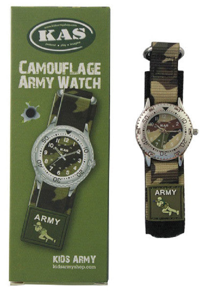 KIDS CAMOUFLAGE WATCH