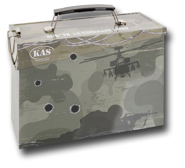 KIDS ARMY STYLE AMMO LUNCH TIN