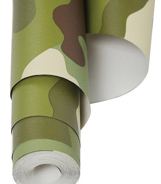 KIDS CAMOUFLAGE WALLPAPER WOODLAND