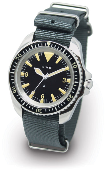 CWC 1980 RN AUTO REISSUE WATCH - LIGHT VINTAGE LUME