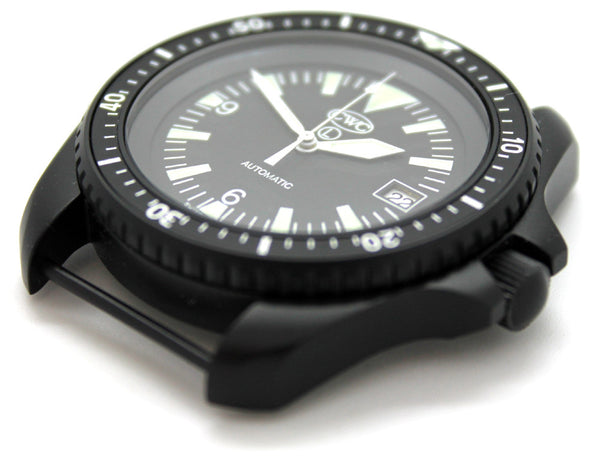 CWC BLACK AUTO DIVERS WATCH WD - SIDE