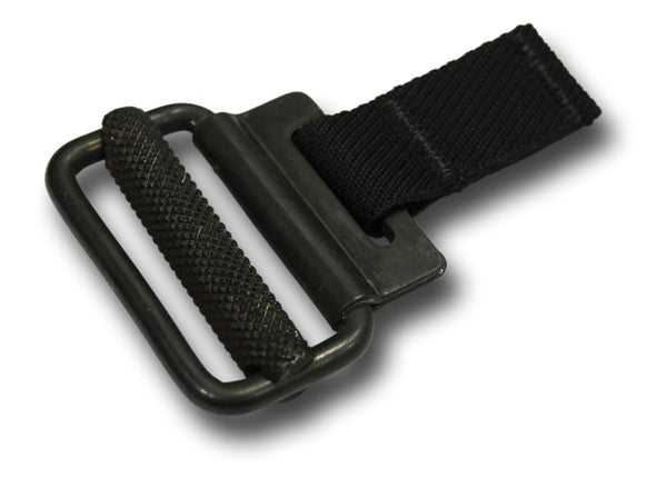 ROLL PIN BUCKLE - BLACK