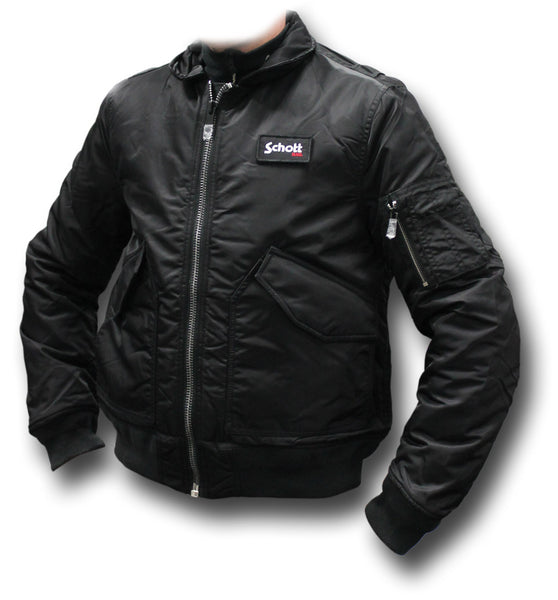 SCHOTT CWU 210 FLYING JACKET - BLACK