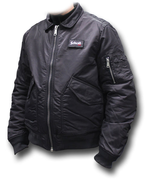 SCHOTT CWU 210 FLYING JACKET - CHARCOAL