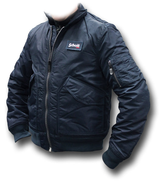 SCHOTT CWU 210 FLYING JACKET - NAVY