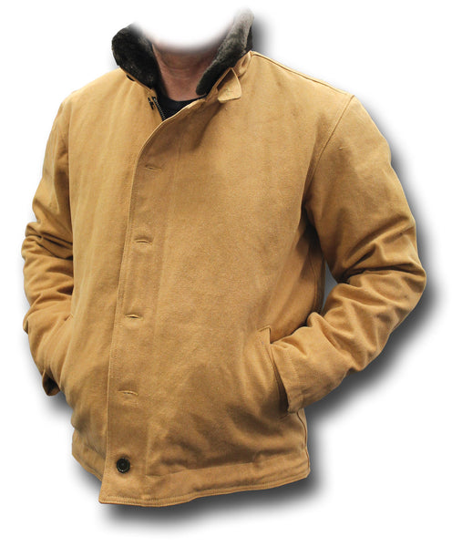 USN TYPE N1 DECK JACKET - TAN