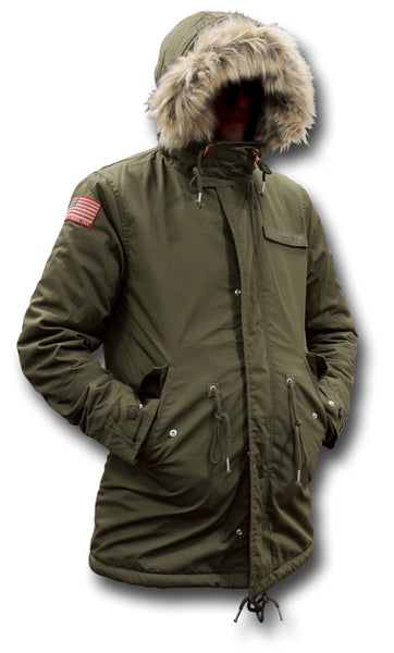 SCHOTT M517 HOODED JACKET