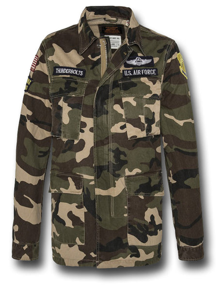 SCHOTT WILLIAMS JACKET - CAMOUFLAGE