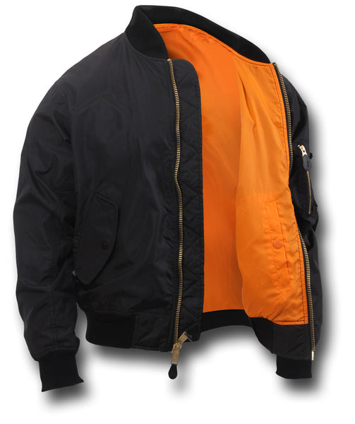 ROTHCO LIGHTWEIGHT MA1 JACKET - INSIDE