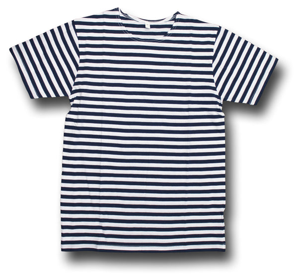 RUSSIAN STRIPED SHORT SLEEVE SHIRT