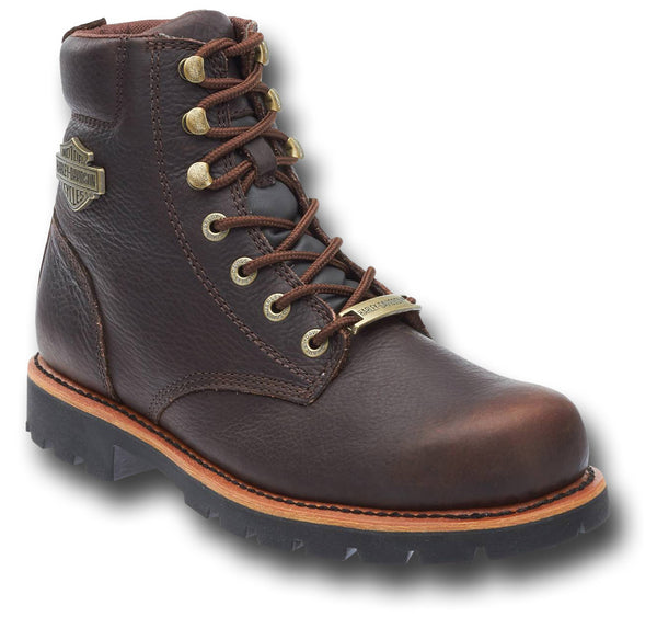 HARLEY DAVIDSON VISTA RIDGE BOOTS - BROWN